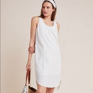 Anthropologie Cloth & Stone Shift Dress Bow-Back